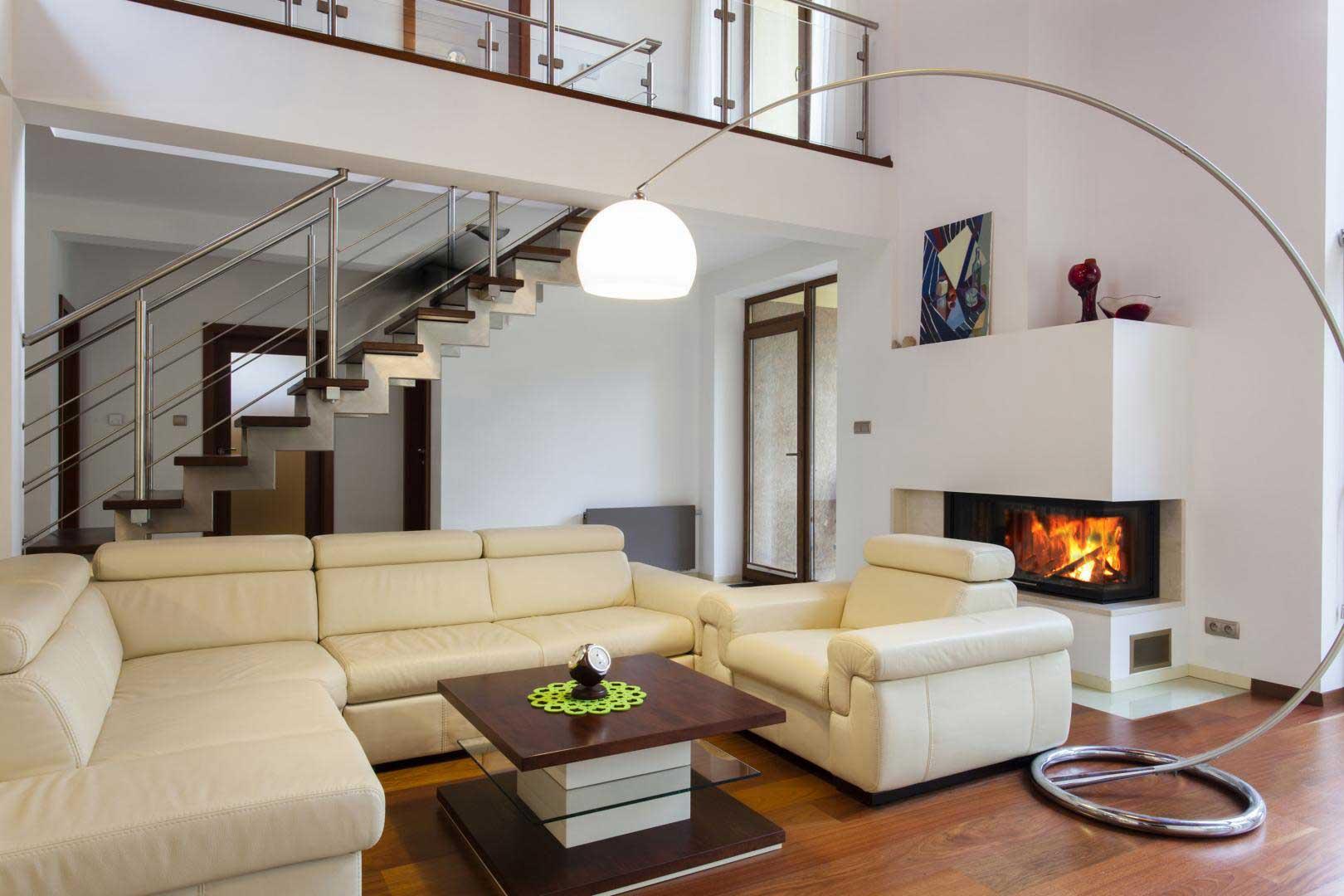 1500*880 image grande taille installation d'un chauffage centrale au bois avec cheminée dans un salon à niort